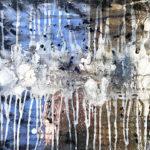 Nikki Vismara_Plaza Viejo (Havana)_12x12_acrylic, epoxy, & mirror tile on panel_2017_small