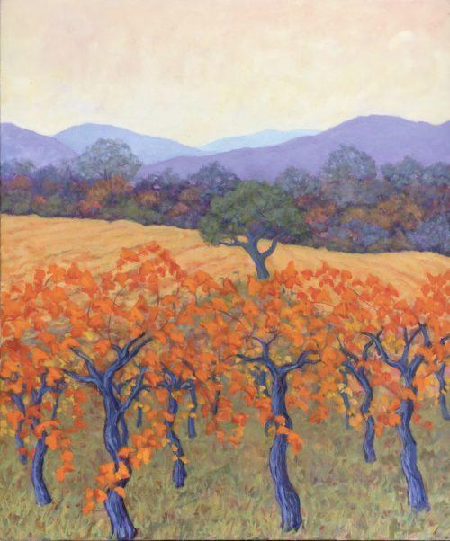 Orange Sonoma Vines
