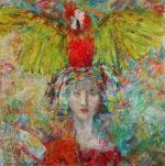 """Resilience Acrylic on canvas 36x36"""""""