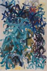 Seaweed. oil on canvas, 36 x 24