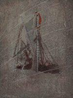 "Shipwreck I (Shackleton's Endurance), Paper, 5 x 4"""