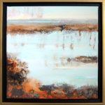 """Etude #1, oil on panel, 20"""" x 20"""", framed"""