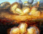 "Untitled Landscape #81, oil on panel, 8"" x 10"""