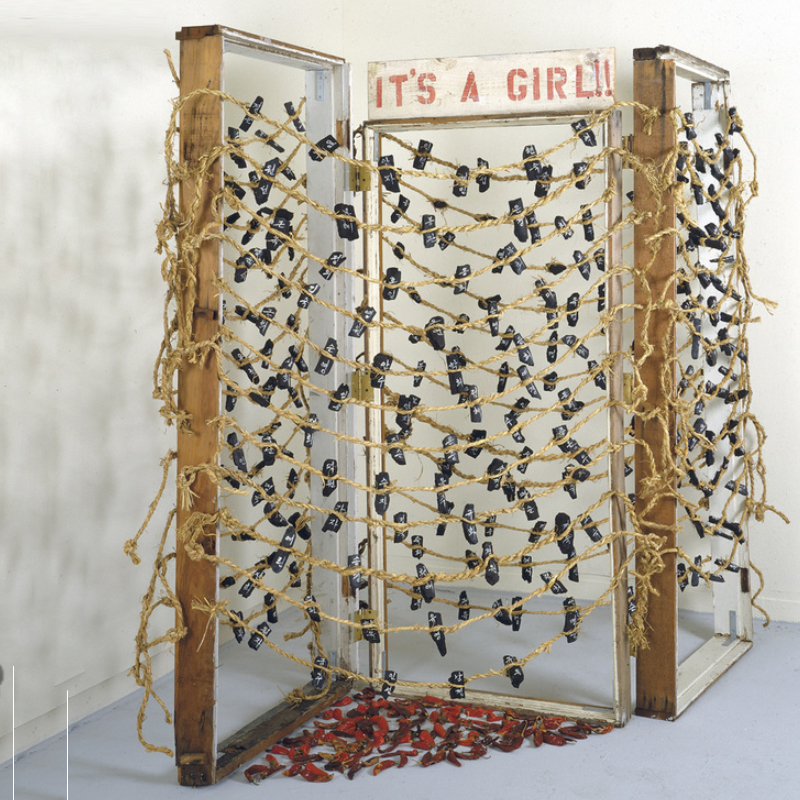 It's a Girl!! Installation from Kay Kang