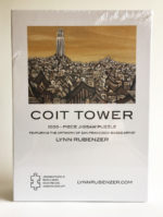 Coit Tower 1000piece Jigsaw Puzzle