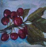 "5 x5"" oil on canvas"