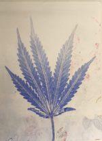 Botanical Impression monotype