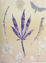"Botanical Monotype15 x 11.5"""