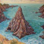 Mendocino Giant Rock, 48 x 48