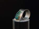 Turquoise and Sterling Wrap Ring