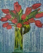 Tulips at Midnight Giclee 1/5