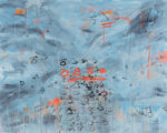 """In Search of Obsolete Letters IV, 50""""x60"""", oil on canvas"""