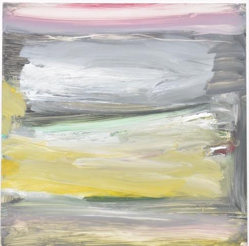 "Marc Ellen Hamel ""Atmospheric Conditions 7,"" acrylic, 7"" x 7"""