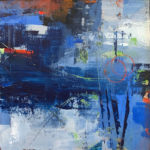 Abstract in Blue I
