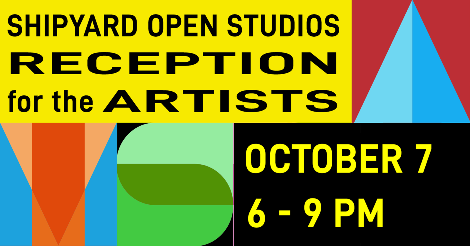 Reception for the Artists Oct 8