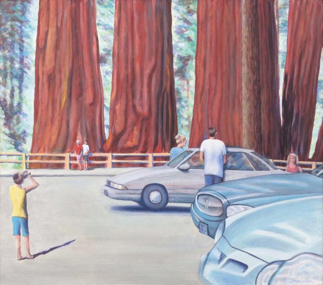Sequoia National Park painting