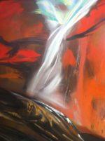 "James Gorman ""landfall,"" oil/canvas, 30""x40"""