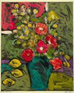 "Maria Mayr ""Three Lemons"", 24"" x 30"", oil on coated paper"