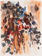 """Ravine"", oil on canvas, 18x24"", $2,000"