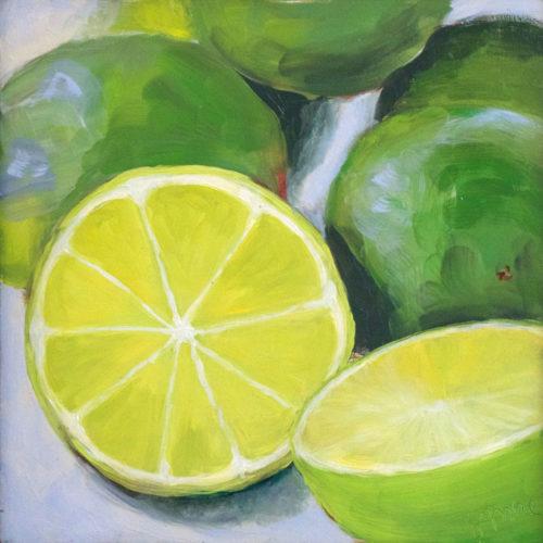 Limes still life