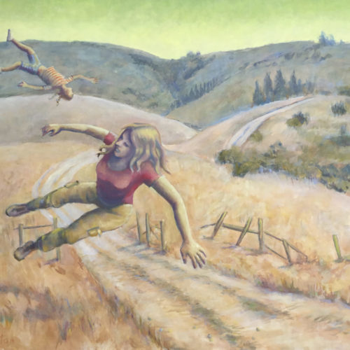 Flying (White's Hill, Marin County)