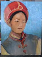 Mongolian dress 1900's