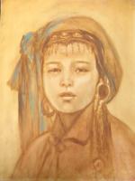 Mongolian head dress 1900's